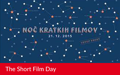 The Short Film Day 2015 in Slovenia