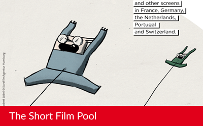 A flyer for the Short Film Pool !